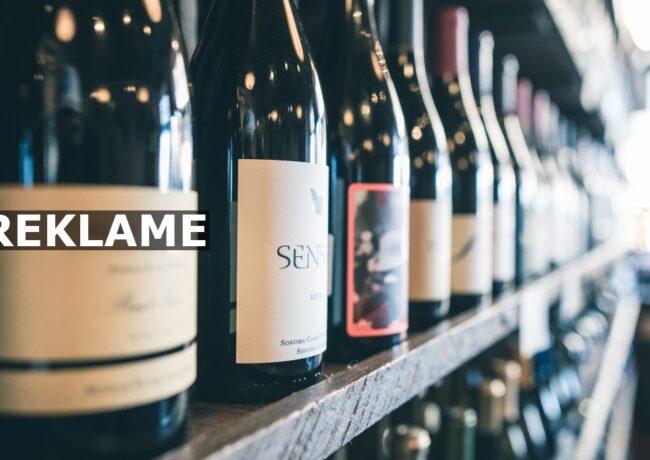 Häng upp vinflaskan på väggen!